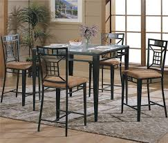 Wrought Iron Kitchen Table Wrought Iron Kitchen Chairs Furniture Of America Midcentury