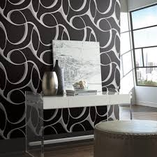 modern wallpaper in silver design by york wallcoverings york dazzling dimensions elliptical wallpaper wallcovering