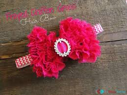 tulle hair bows diy projects hair bows