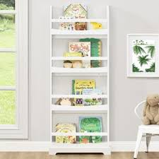 white kids u0027 bookcases you u0027ll love wayfair