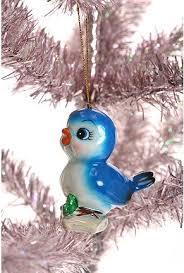 porcelain bluebird ornament ornaments