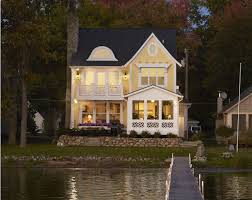 awesome picture of narrow lake house plans perfect homes