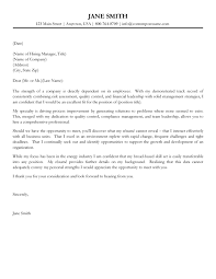 cover letter leadership position gallery cover letter sample