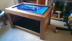 coffee table marvelous gaming coffee table ideas arcade game