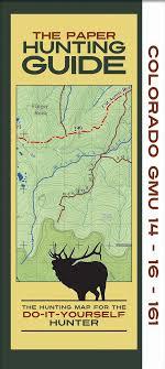 colorado topographic unit maps