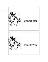 Thank You Card Designs Free Thank U Templates New Life Stationery Black Thank You Cards