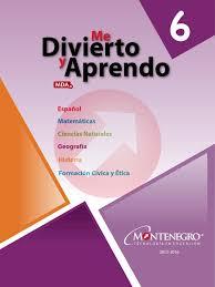 libro de matematicas 6 grado sep 2016 2017 6to guia montenegro del maestro