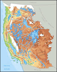 Plateau Of Mexico Map by Great Lakes Earth Whole Alternate History Discussion