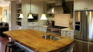 wood top kitchen island outstanding wood top kitchen island view in gallery thedailygraff