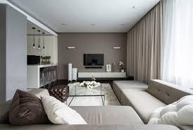 Apartment Designer How To Decorate Around Neutral Modern Sofas - Design for apartment