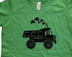 kids shamrock shirt etsy