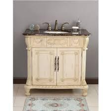 Bathroom Vanity Ls Ls 1013 Casablanca 38 Inch Antique Ivory Single Sink Bathroom Vanity