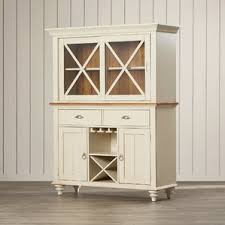 Small China Cabinet Hutch by Display Cabinets You U0027ll Love Wayfair
