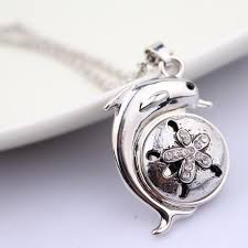 rhinestone pendant necklace images New fashion statement style women elegant animal pendant necklace jpg