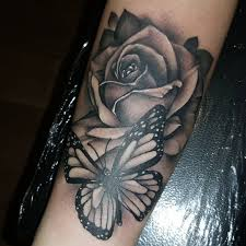 black and grey forearm tattoo designs 43 beautiful forearm rose