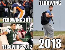 Tebowing Meme - image 537418 tebowing know your meme