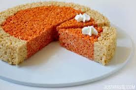 rice crispy treat pumpkins pumpkin pie rice krispies treats just a taste