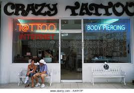 tattoo body piercing shop stock photos u0026 tattoo body piercing shop