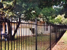 residential ornamental iron fences cityfencesa