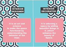 what is an interior decorator difference between an interior designer and an interior decorator