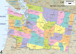 United States Map With Interstates by Washington State Map Us