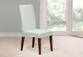 Elegance Dining Chair Slipcovers Collection Bed  Shower - Short dining room chair covers