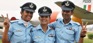 remember the first 3 women fighter pilots of indian air force