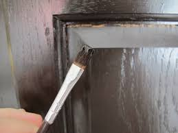 Steps Applying Gel Stain Kitchen Cabinets  Home Ideas Collection - Stain for kitchen cabinets