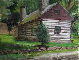 draw swedish cabin