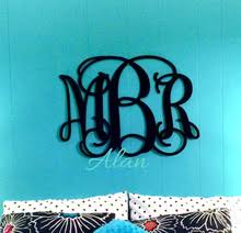 Home Decor Initials Letters Online Get Cheap Monogram Wall Letters Aliexpress Com Alibaba Group