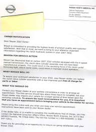 nissan canada recall by vin recall on slave cylinder my350z com nissan 350z and 370z forum