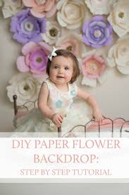 photography backdrop paper diy paper flower backdrop saratoga springs boston baby