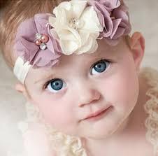 baby hair accessories twdvs newborn flower elastic hair band kids headband chiffon 3