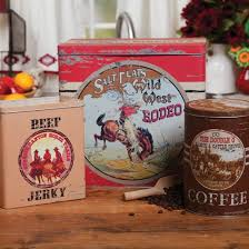 western kitchen canisters i think i someone who would like this vintage western