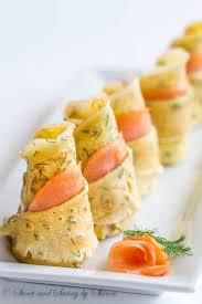 cuisine crepe dill crepes with smoked salmon savory by shinee