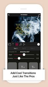 intro music video movie maker on the app store