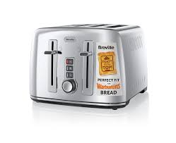 Best Toaster Uk Breville Vtt571 4 Slice Toaster The Perfect Fit For Warburtons