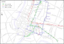 Dc Metro Bus Map by Subways Transport