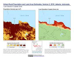 New Orleans Elevation Map by Maps Low Elevation Coastal Zone Lecz Sedac