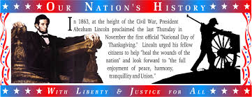 abraham lincoln on thanksgiving on line user u0027s guide
