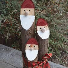 dainish nisse from cedar logs christmas ideas pinterest logs