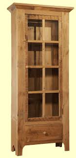 reclaimed wood curio cabinet curio cabinets all craftsman listing