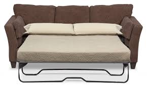Innerspring Mattress For Sofa Bed by Juno Queen Innerspring Sleeper Sofa Chocolate Value City Furniture