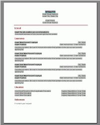 Fillable Resume Fillable Resume Templates 37 Images Fillable Resume Templates