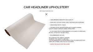 Upholstery Glue For Car Roof 150 X 350cm Car Roof Beige Upholstery Truck Ute Foam Headliner