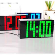 lighted digital wall clock unique digital clock lighted digital wall clock decorative small