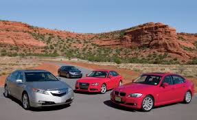2009 Infiniti G37 Vs Bmw 328i Audi A4 And Acura Tl U2013 Comparison