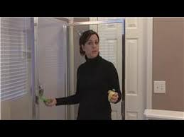 Water Stains On Glass Shower Doors Housekeeping Tips How To Remove Water Stains On Glass