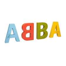 other 4 abba 3d letters