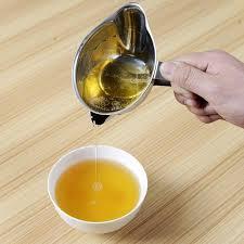 fettabscheider küche 2 stücke edelstahl küche ölfilter schüssel suppe fettabscheider